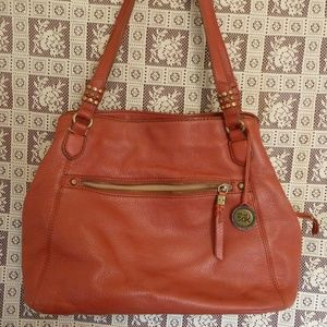 Red 100% Leather Purse by The Sak